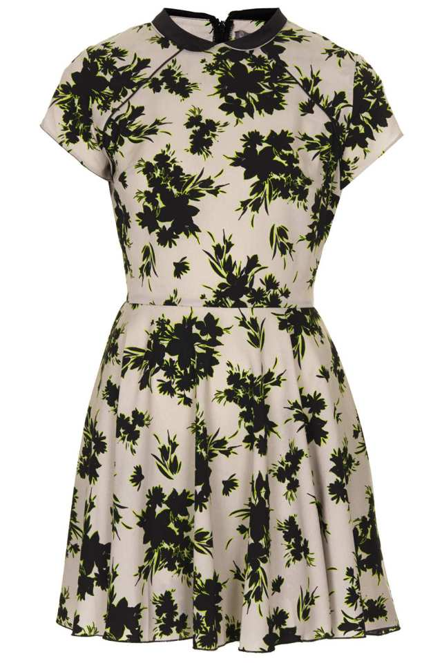 Oriental Style Dress by Love TOPSHOP