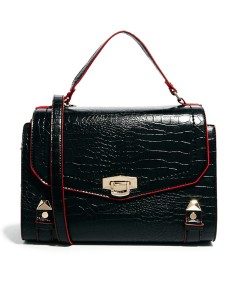 River Island Croc Embossed Bag