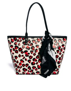 DKNY Active Animal Print Shopper