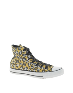 Converse All Star Animal Print High Top Trainers