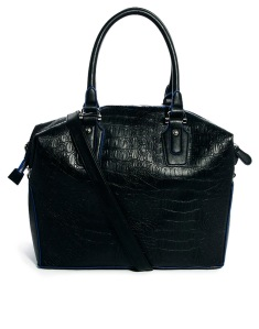Holdall Bag In Croc