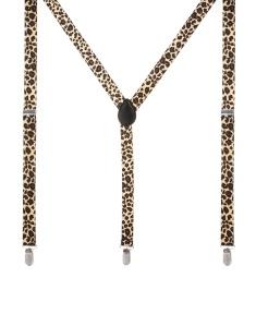 Braces In Leopard Print