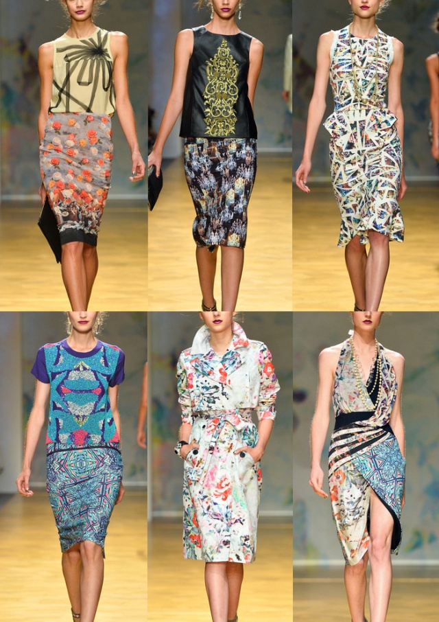 Nicole_Miller_New_York_SS14_Print_Catwalk_Spring_Trends