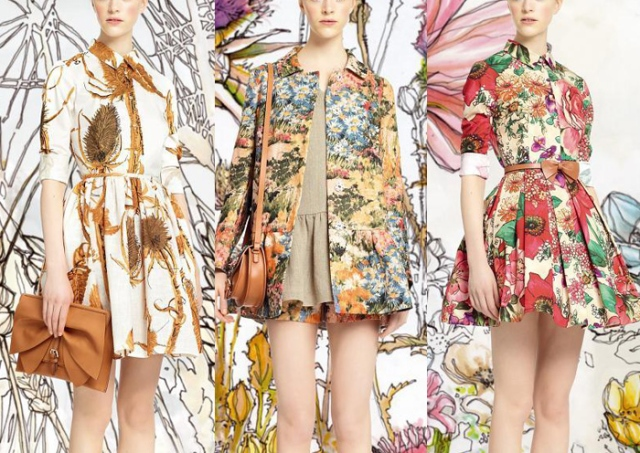 Red_Valentino_Spring_summer_2014_NY_catwalk_prints