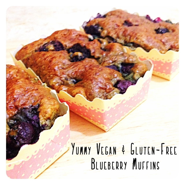 Gluten-Free Blueberry Muffin